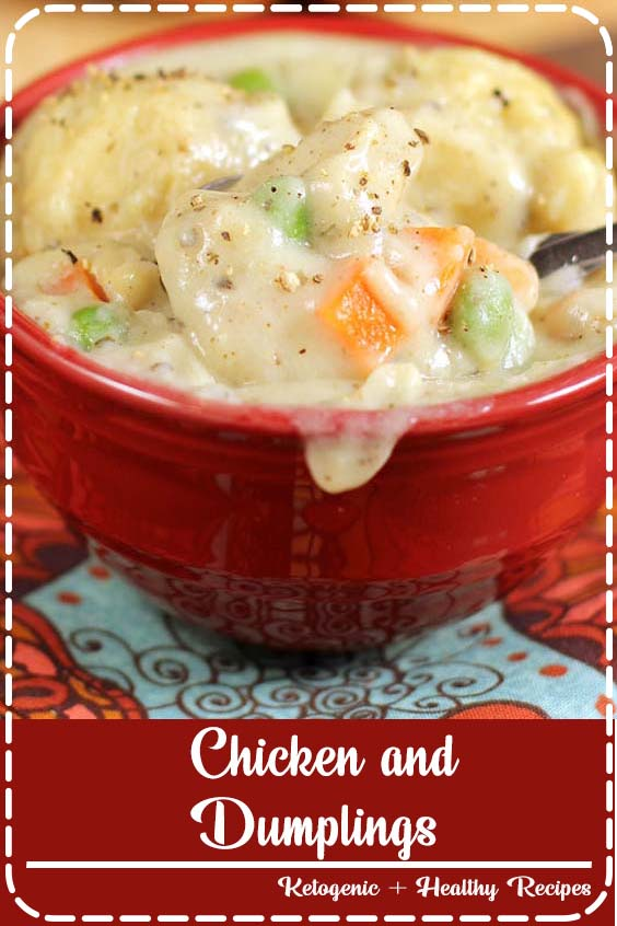 Chicken and Dumplings is a dish that goes from prep to plate in  30-Minute Chicken and Dumplings