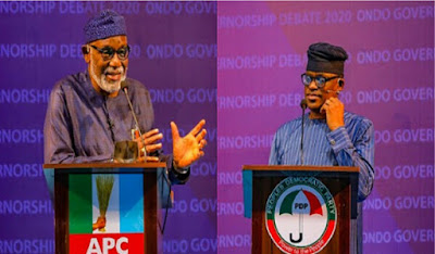 'I Tarred The Road Leading To Your House' - APC, PDP Candidates Clash At Governorship Debate