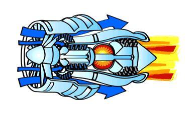 كيف يعمل المحرك النفاث؟