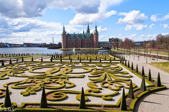 Fotografia de Los jardines del castillo Frederiksborg