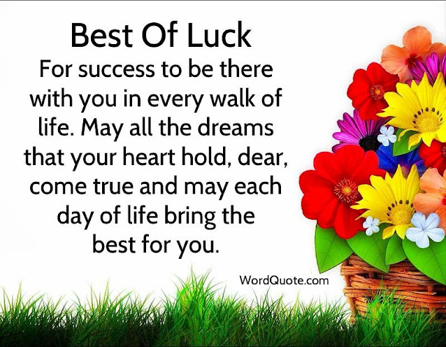best of luck quotes
