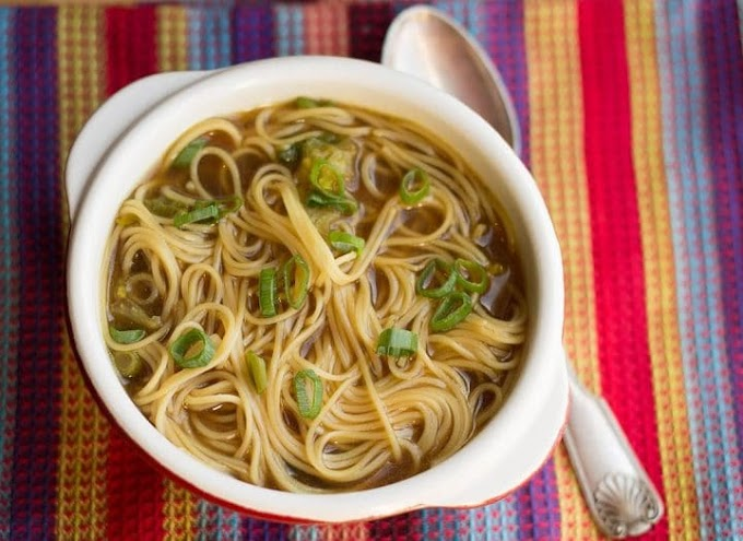 Quick and Easy Chinese Noodle Soup #recipe #healthy