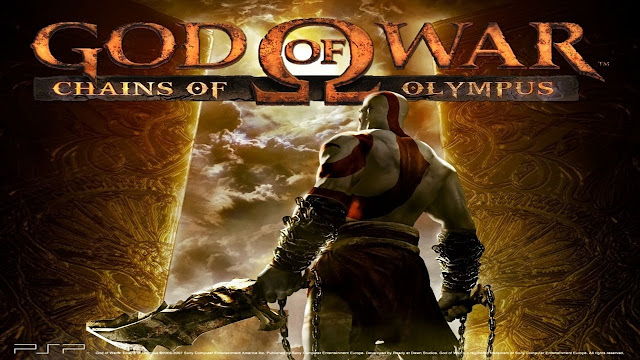 Best PSP Game for Android  God of War chains of Olympus