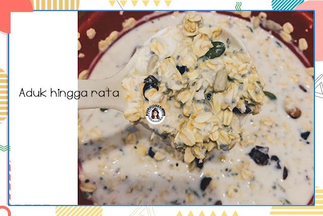 Cara-mudah-membuat-overnight-oatmeals