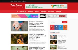 takis blogger theme