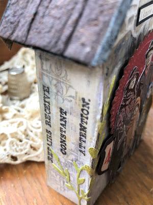 Sara Emily Barker https://sarascloset1.blogspot.com/2019/06/memories-of-home-for-frilly-and-funkie.html Memories of Home Tim Holtz Tiny Houses  20