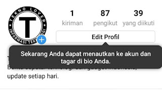 Baru Pada Instagram Bisa Isi Pengguna akun dan Tagar Aktif