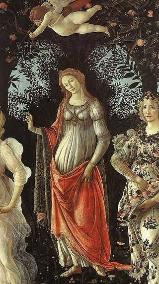 Sandro Botticelli Primavera detail