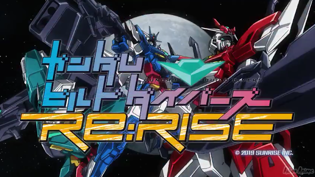 Gundam Build Drivers Re-Rise