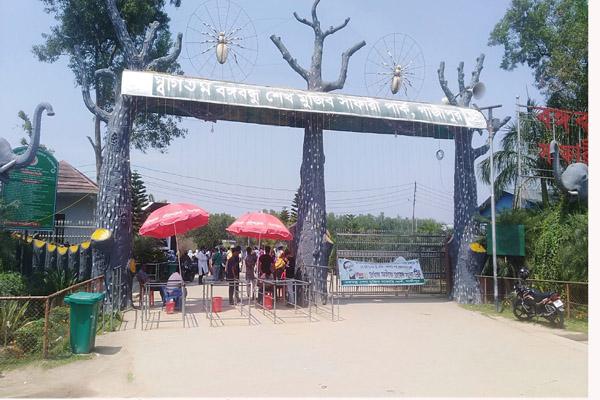 Popular tourist attractions Bangabandhu Safari Park Gazipur