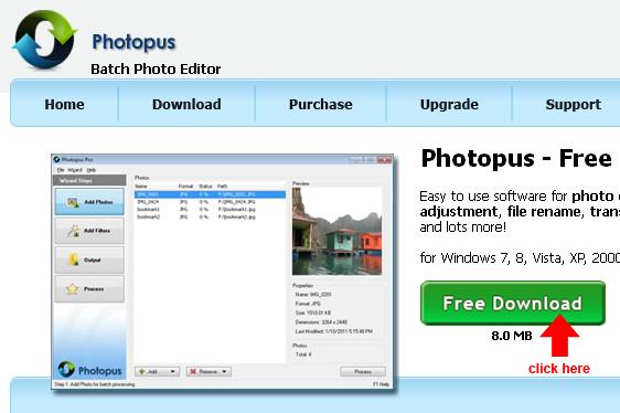 download photopus freeware