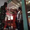 TNI - Polri Wilayah Marbo, Evakuasi Rumah Warga Akibat Angin Puting Beliung