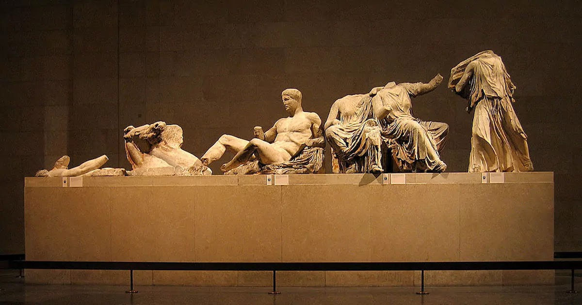 US Lawmakers Demand That The UK Returns The Elgin Marbles To Greece A Demand Rejected By Boris Johnson