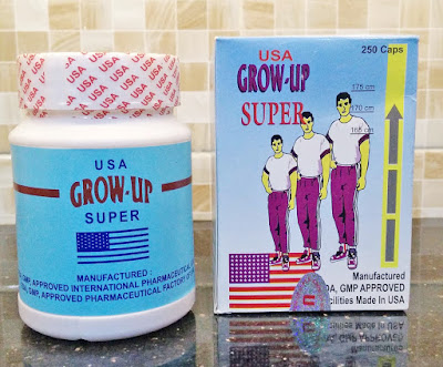 Grow-up USA suplemen peninggi badan