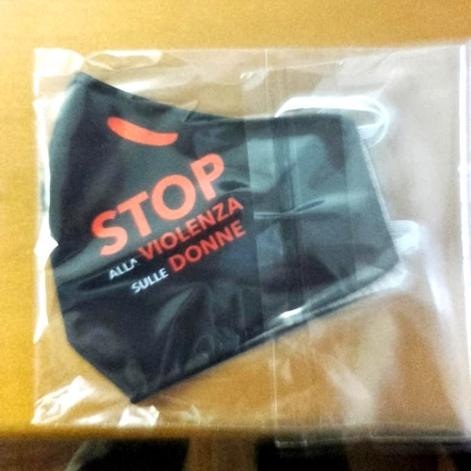 Stop alla violenza sulle donne: 20mila mascherine prodotte in carcere per ricordare la giornata internazionale