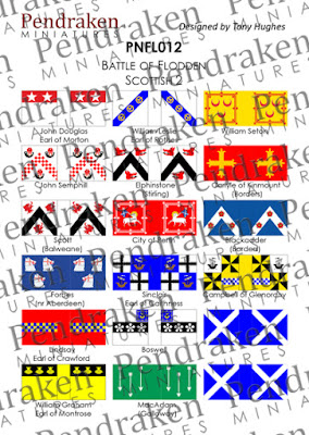 PNFL012 - Flodden Scottish, sheet 2 (18 flags)