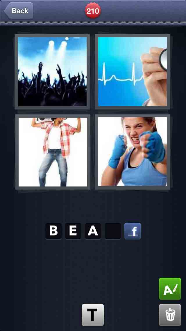 answer to 4 pics 1 word: answer to 4 pics 1 word - level 210 - 4 words