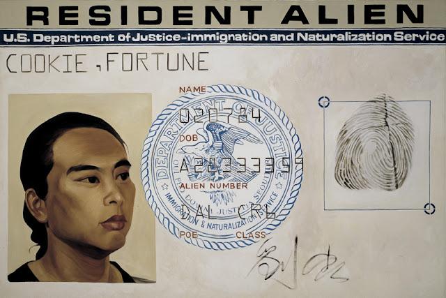 Hung Liu (artist), Resident Alien, 1988 http://www.hungliu.com/resident-alien.html