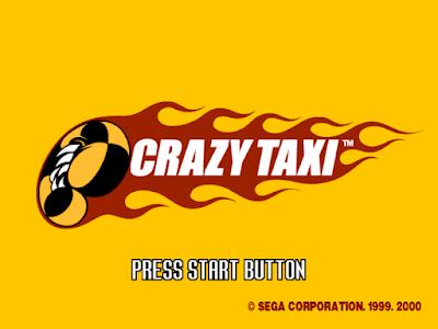 瘋狂計程車(Crazy Taxi),沒有任何交通規則的載客遊戲!