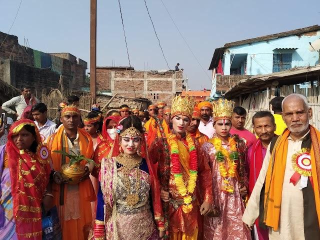 बसैठ में छठ पूजा को लेकर निकली भव्य कलश यात्रा