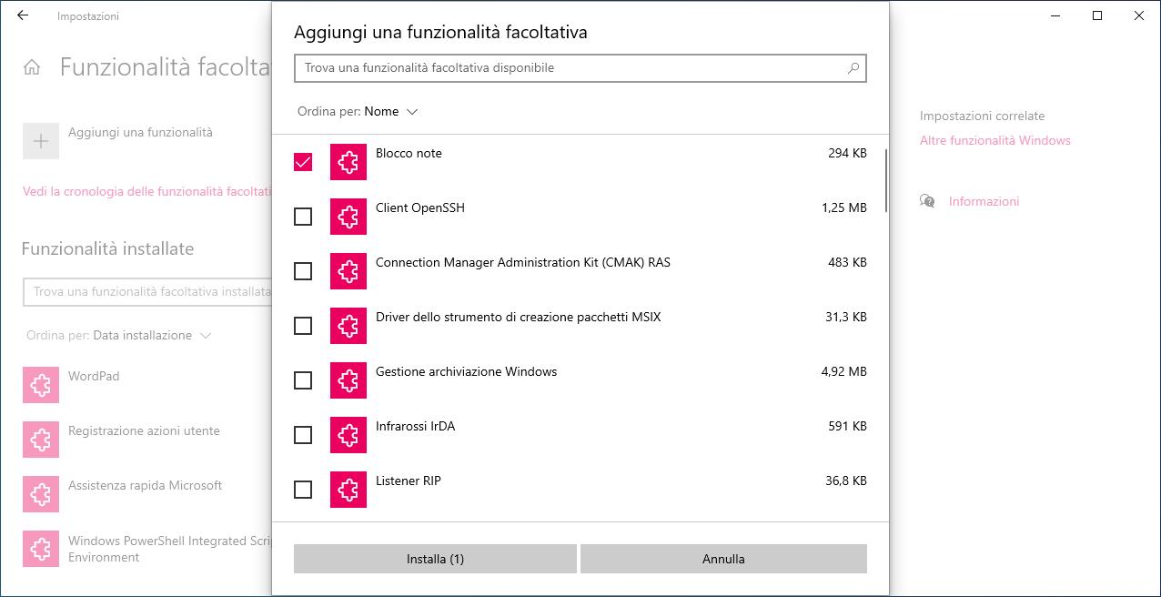 Blocco note non più disponibile in Windows 10 | Soluzione