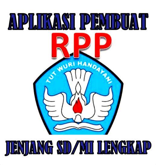 Aplikasi Pembat RPP Otomatis Jenjang SD/MI Format Lengkap
