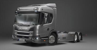 Scania começa a vender caminhão híbrido em novembro