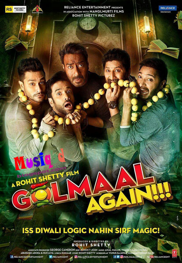 Golmaal 3 MP3 Songs Soundtracks Music Album Download