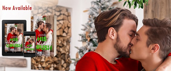 His Holiday Crush by Cari Z. Now Available.