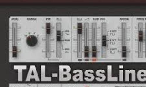 Togu Audio Line TAL-BassLine-101 v3.2.1 incl Keygen Full version