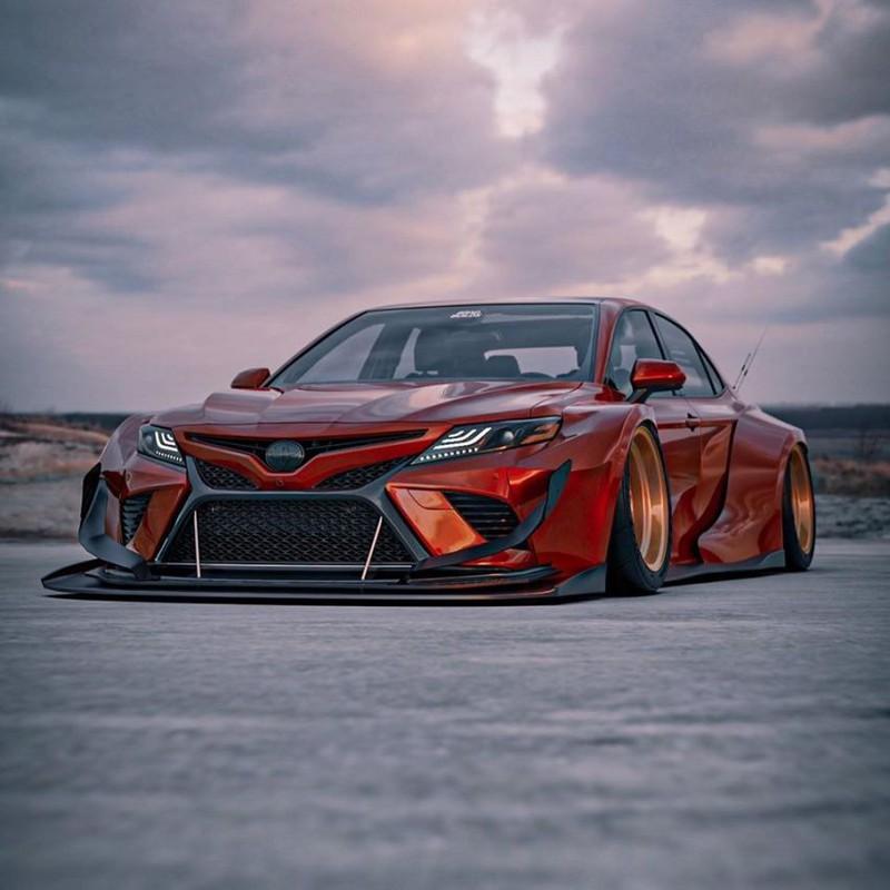 Hình ảnh Toyota Camry XV70 'ngầu' hơn với Brad Builds