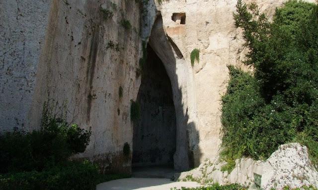 Orelha de Dionísio em Siracusa