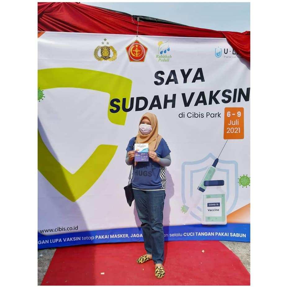 Pengalaman Vaksin Sinovac Tahap Satu di Cibis Park Nurul Sufitri Travel Lifestyle Blog