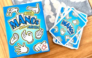 Manos ¡arriba! Juego de cartas