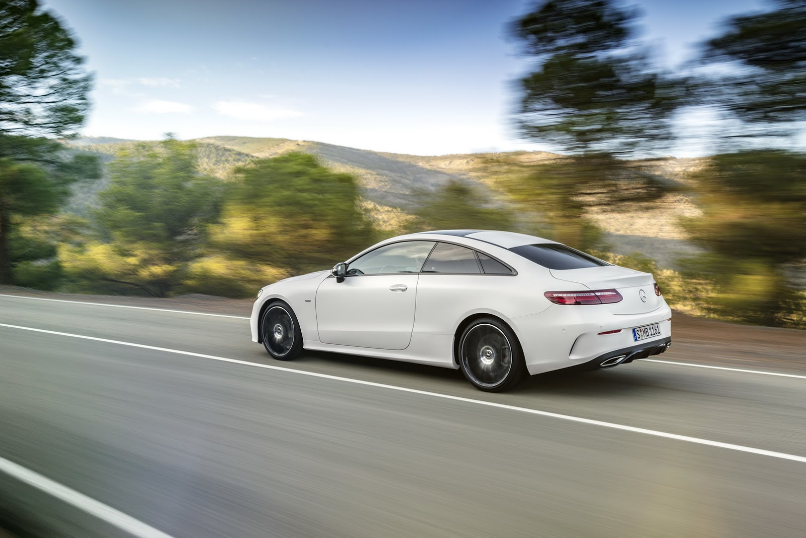 2018 mercedes-benz e-class coupe for when the s coupe is too big