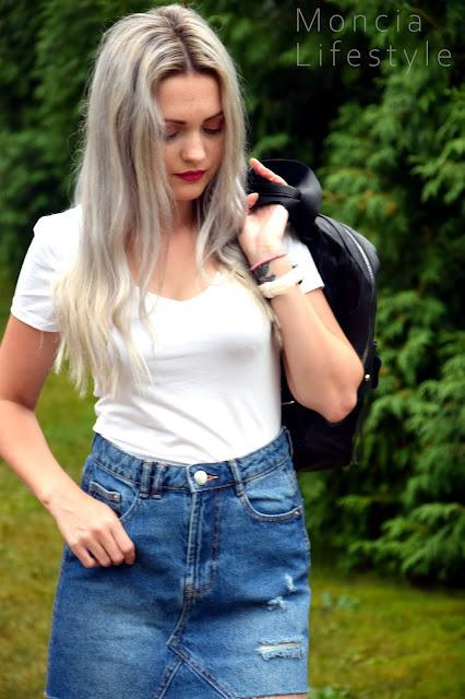 stylizacja, fashion, stylizacja z plecakiem, plecak, plecak Pariso.pl, pariso.pl, modne plecaki, małe plecaki, plecaki do wszystkiego