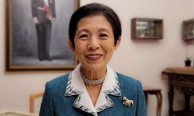 Japan's Her Imperial Highness Princess Takamado.