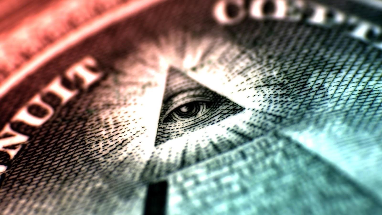Image result for dollar illuminati pyramid