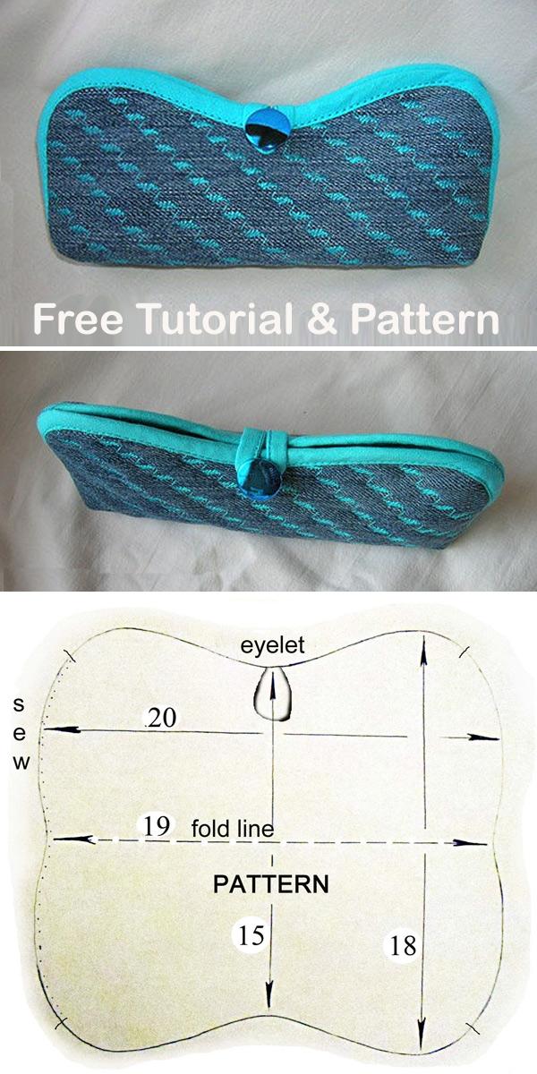 Eyeglasses Case Tutorial & Pattern