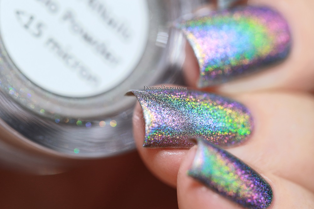 Fashion Polish: Color4Nails Halo Powder swatches & review!