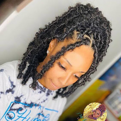 27 Butterfly Locs Hairstyle Ponytails To Copy In 2020