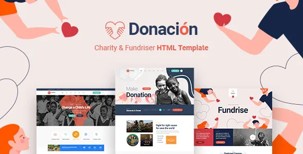 Best Fundraising & Charity HTML5 Template