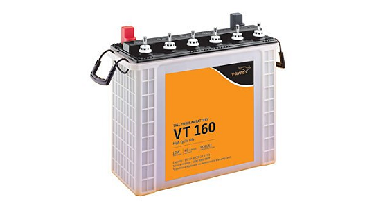 V-Guard VT 160 150 mAh Inverter Tubular Tall Battery