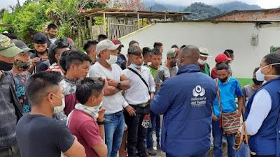 400 indígenas del Alto Andágueda siguen abandonados por el gobierno chocoano en Pueblo Rico