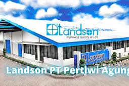 Lowongan Kerja Landson PT Pertiwi Agung Cikarang