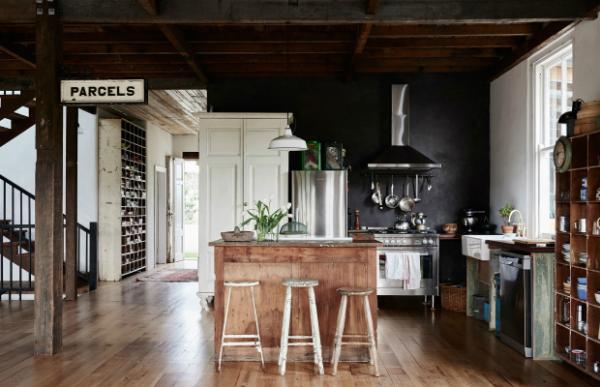 Vivienda de estilo country-chic reciclado by Habitan2 | Decora reciclando materiales como esta vivienda con toques industriales