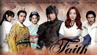 korean drama faith, kdrama, time travel, love, politics history
