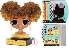 Сделай прическу кукле Лол Сюрприз: манекены L.O.L. Surprise O.M.G. Styling Head уже в продаже