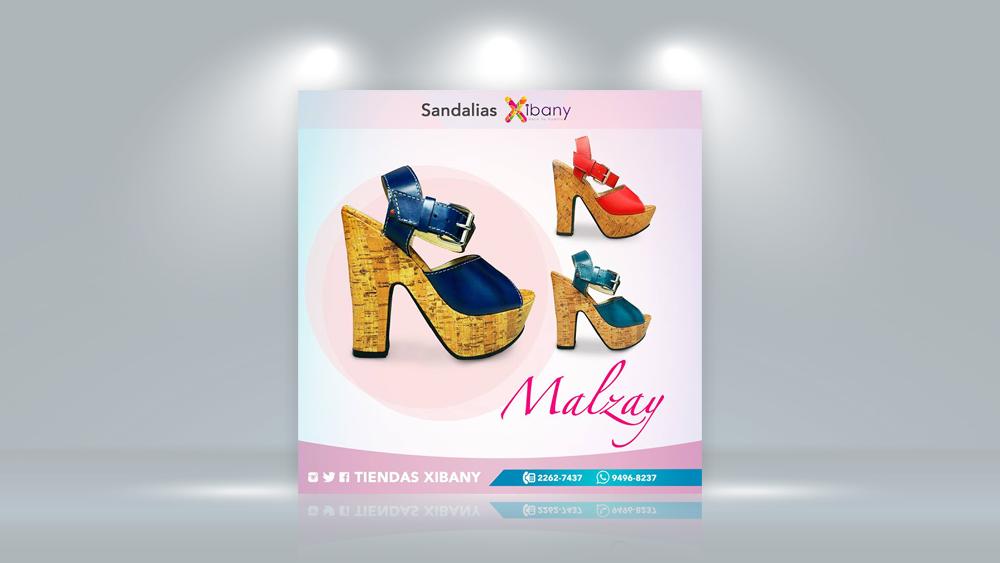 Publicidad Productos Xibany