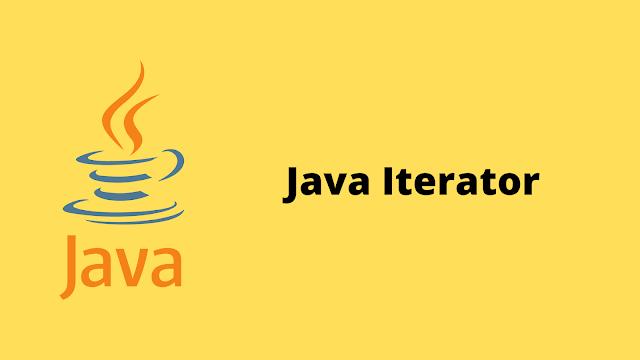 HackerRank Java Iterator problem solution